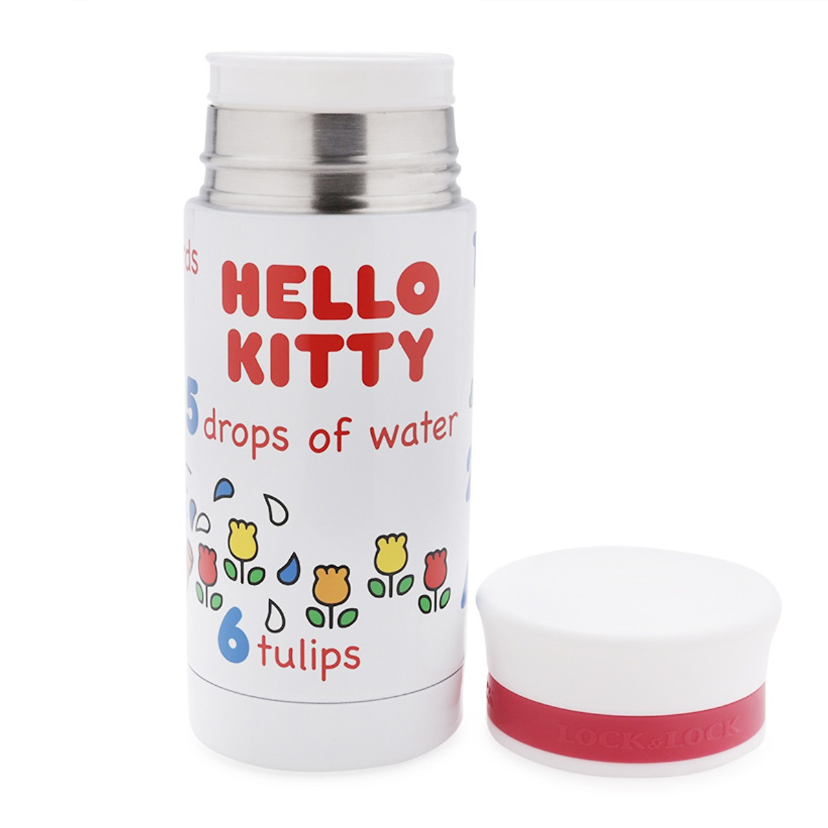 Bình Giữ Nhiệt Hello Kitty Clever Number HKT350W 200ml