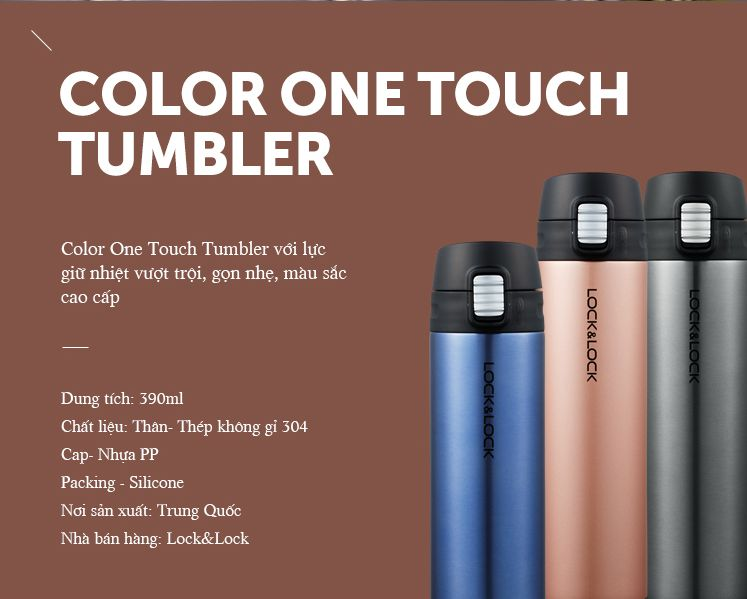 Bình Giữ Nhiệt Lock&Lock Colorful Tumbler Funcolor LHC3222 1-compressed