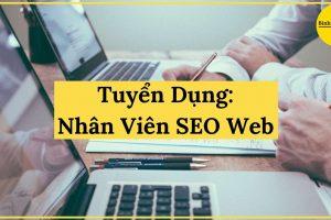 binhnuocteen tuyển dụng nhân viên seo web