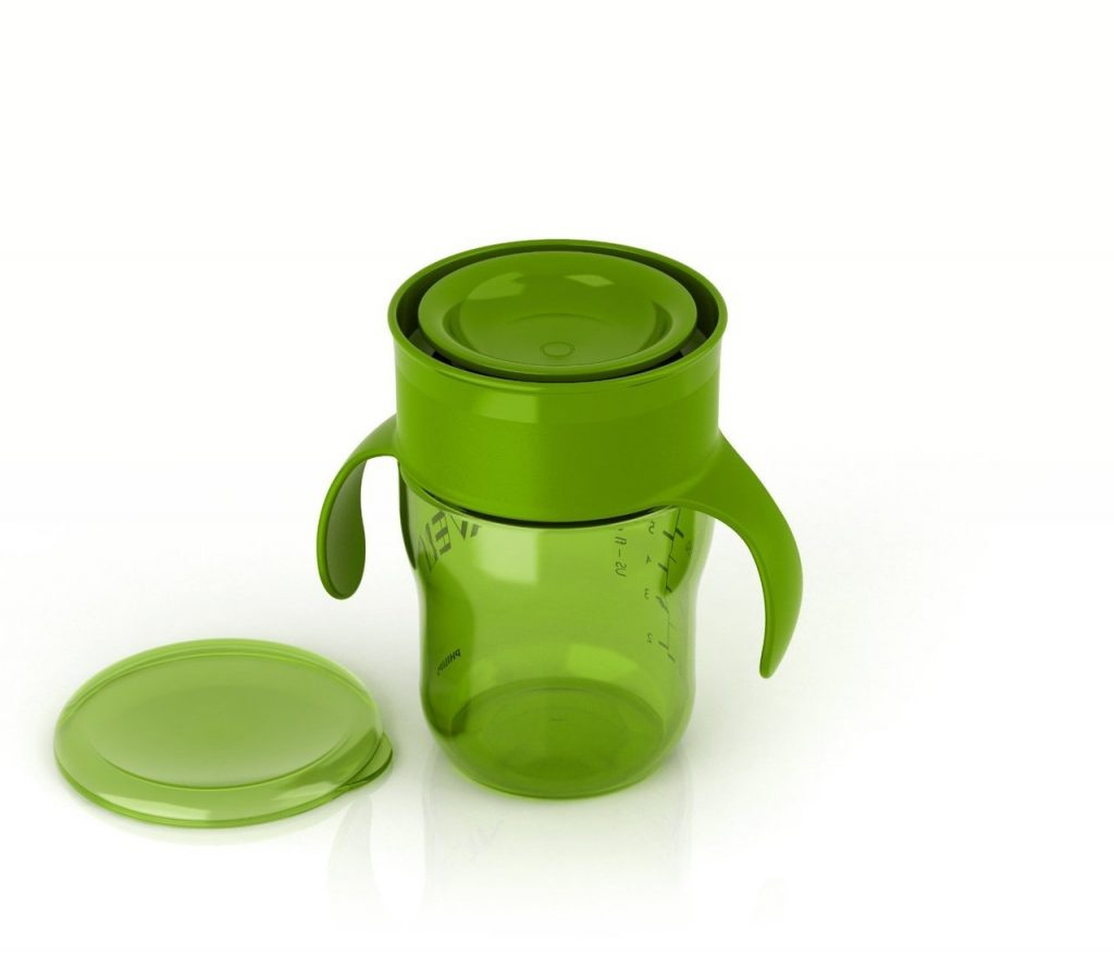 Bình tập uống nước Philips Avent My Natural Trainer Cup Binhnuocteen