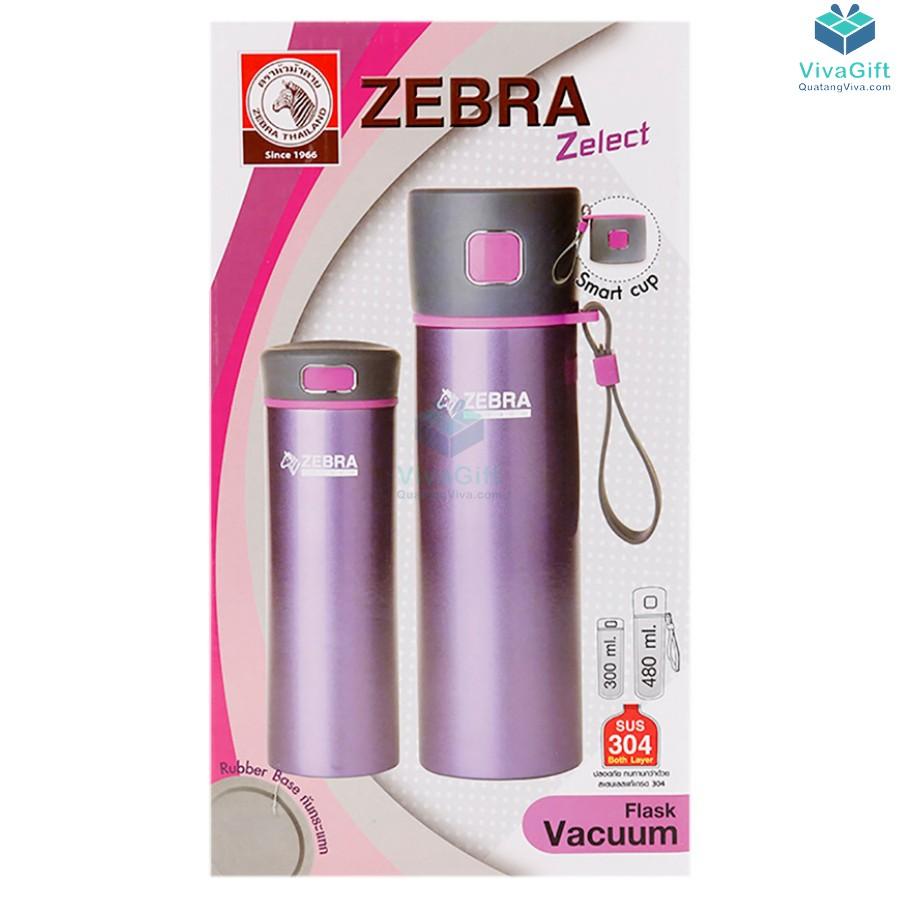 Bình Giữ Nhiệt ZEBRA - 112949 Flask Zelect 480ml làm quà tặng