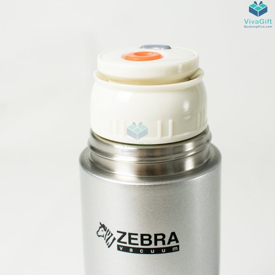 Bình Giữ Nhiệt ZEBRA - 112949 Flask Zelect 480ml khắc logo