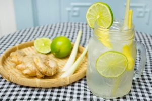 uống nước sả gừng Binhnuocteen