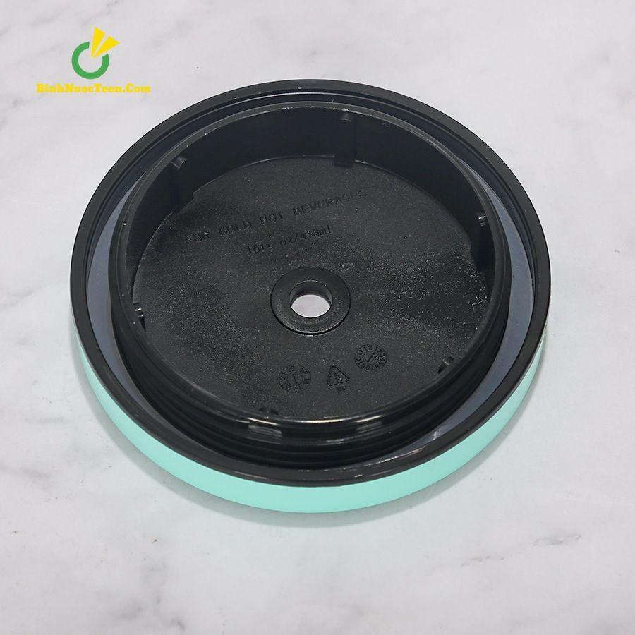 Ly Giữ Nhiệt Cafe 500ml Có Ống Hút Inox 304 Q209