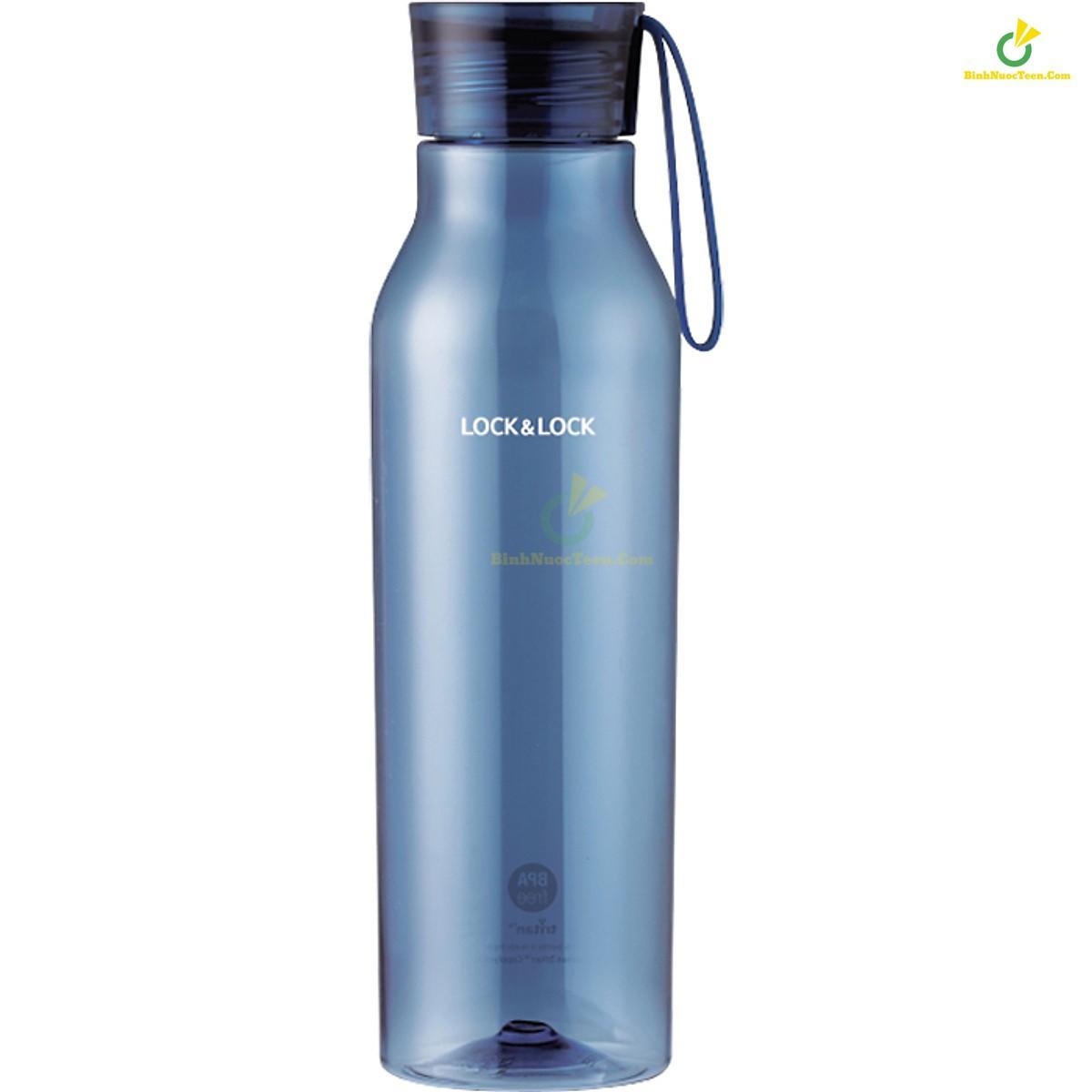 bình nước nhựa tritan lock&lock ABF664 750ml màu xanh