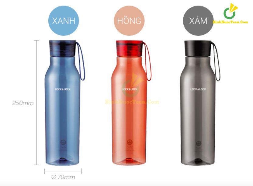 bình nước nhựa tritan lock&lock ABF664 750ml 3