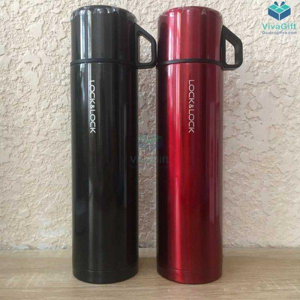 Bình giữ nhiệt Lock&Lock mocha vacuun bottle 750ml