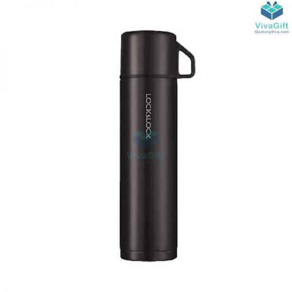 Bình giữ nhiệt Lock&Lock mocha vacuun bottle 750ml khắc logo doanh nghiệp theo yêu cầu
