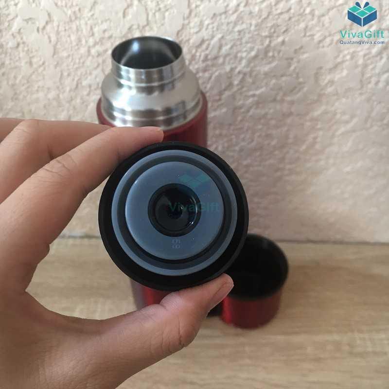 Bình giữ nhiệt Lock&Lock mocha vacuun bottle 750ml khắc tên theo yêu cầu làm quà tặng doanh nghiệp