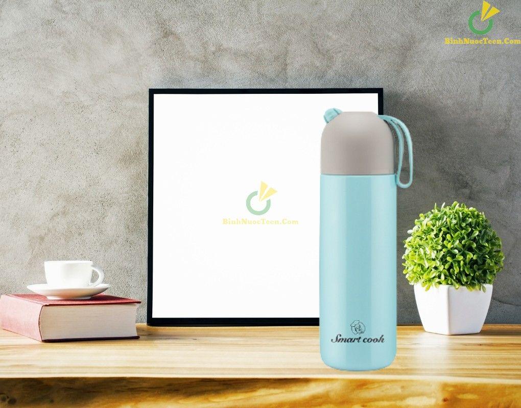 Bình giữ nhiệt Smart Cook inox 316 410ml EDA0309 làm quà tặng doanh nghiệp