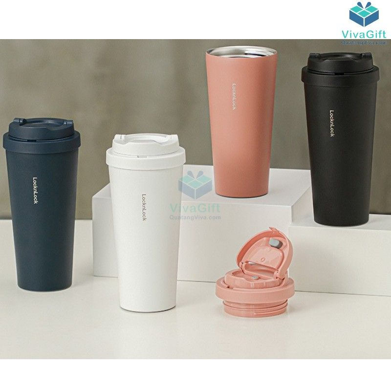 Ly Giữ Nhiệt Lock&Lock Energetic One -Touch Tumbler LHC3249 - 550ML