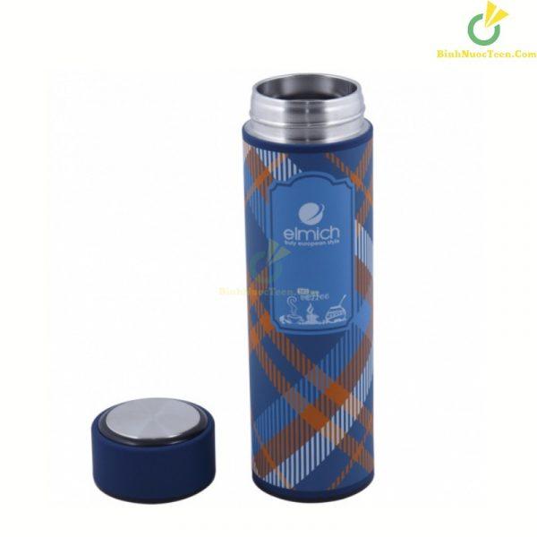 bình giữ nhiệt elmich dung tích 450ml EL-0738 in logo công ty