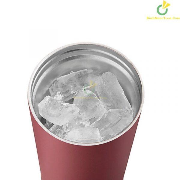 Bình giữ nhiệt có ống hút Lock&Lock Bucket Tumbler with Straw LHC4268 18