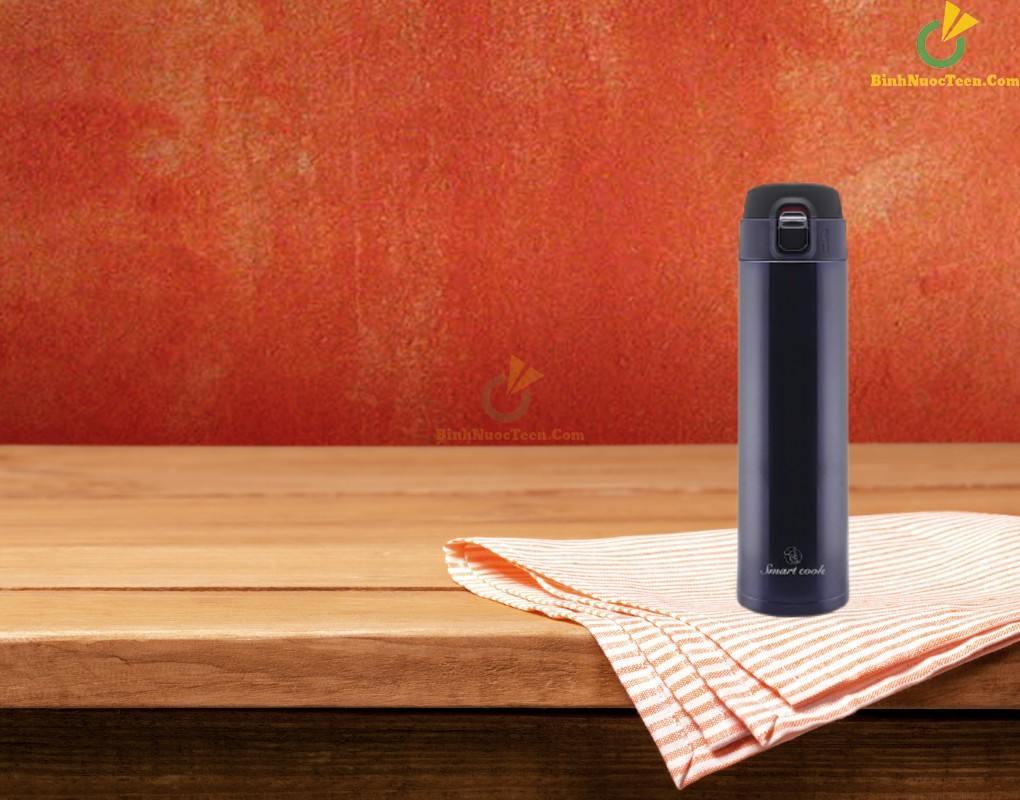 Bình giữ nhiệt Smart Cook inox 304 EDA0308 in logo quà tặng công ty