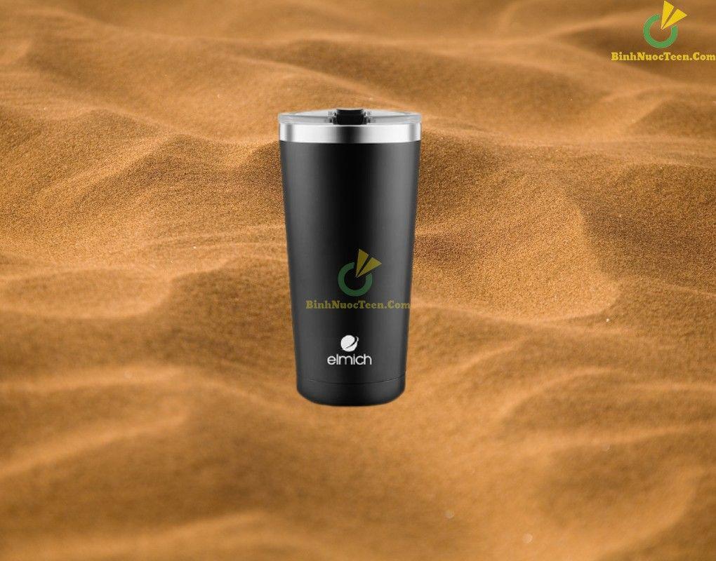 cốc giữ nhiệt elmich inox 304 580ml el3666 làm quà tặng người thân
