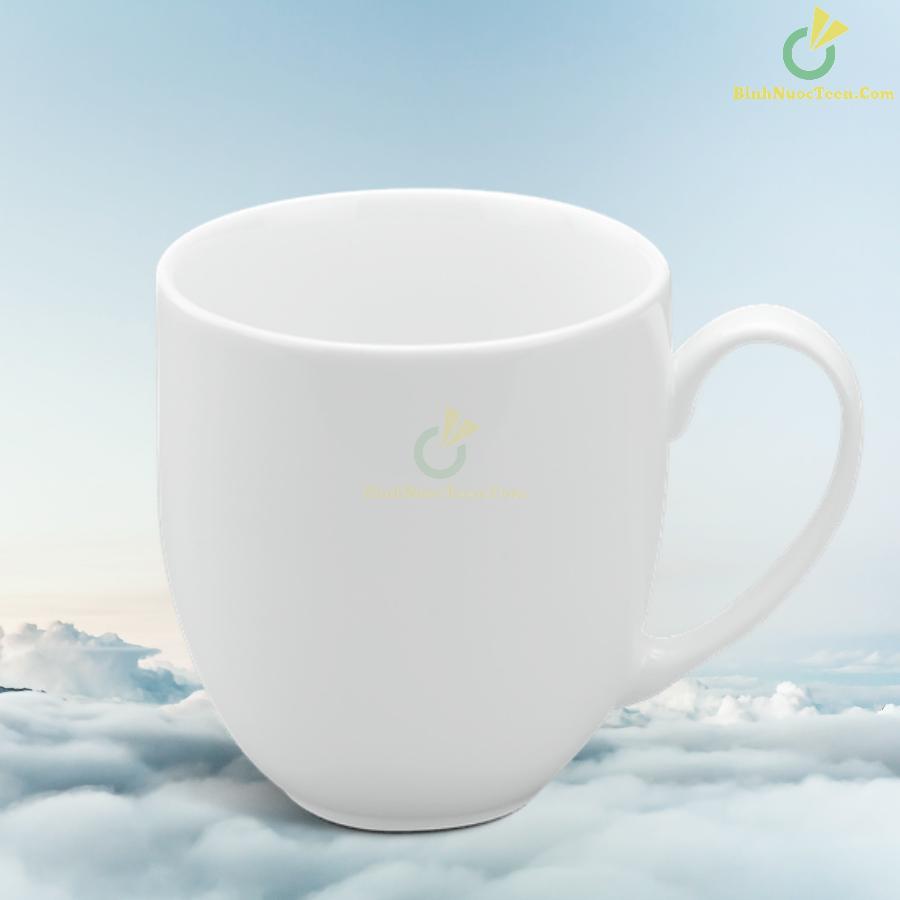 Ly Sứ Minh Long Trắng 0.4 L - Camellia - Trắng 10