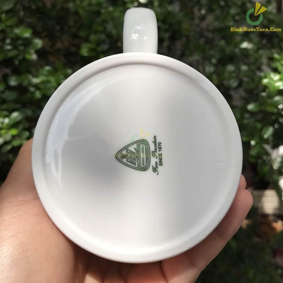 Ly Sứ Minh Long 0.36L - Jasmine - Trắng 24