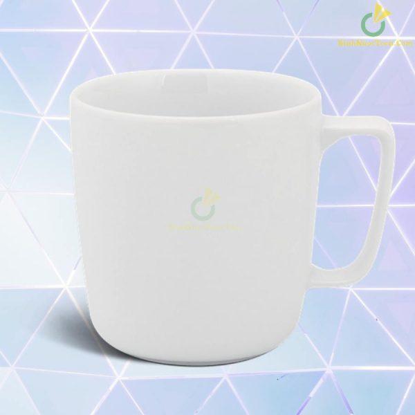 Ly Sứ Minh Long 0.38 L - Jasmine - Trắng 8