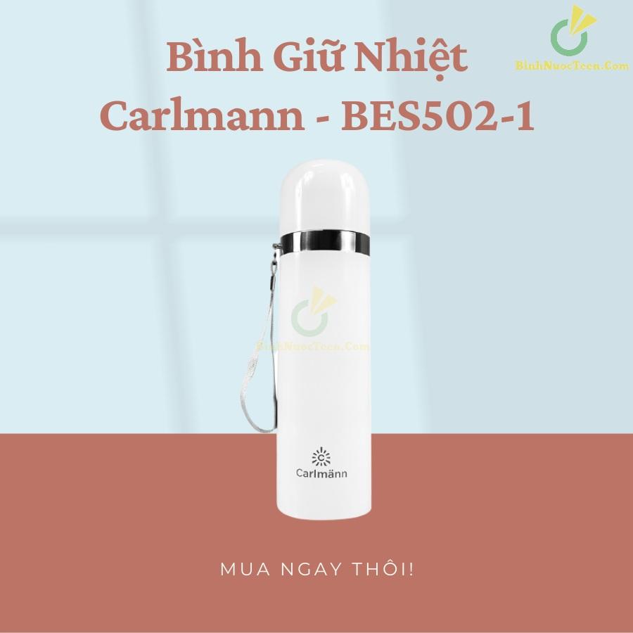 Bình Giữ Nhiệt Carlmann 500ml Nóng Lạnh - BES502-1 8