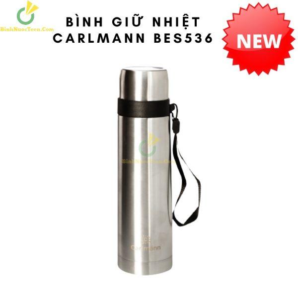 Bình Giữ Nhiệt Carlmann 500ml Nóng Lạnh - BES536 1