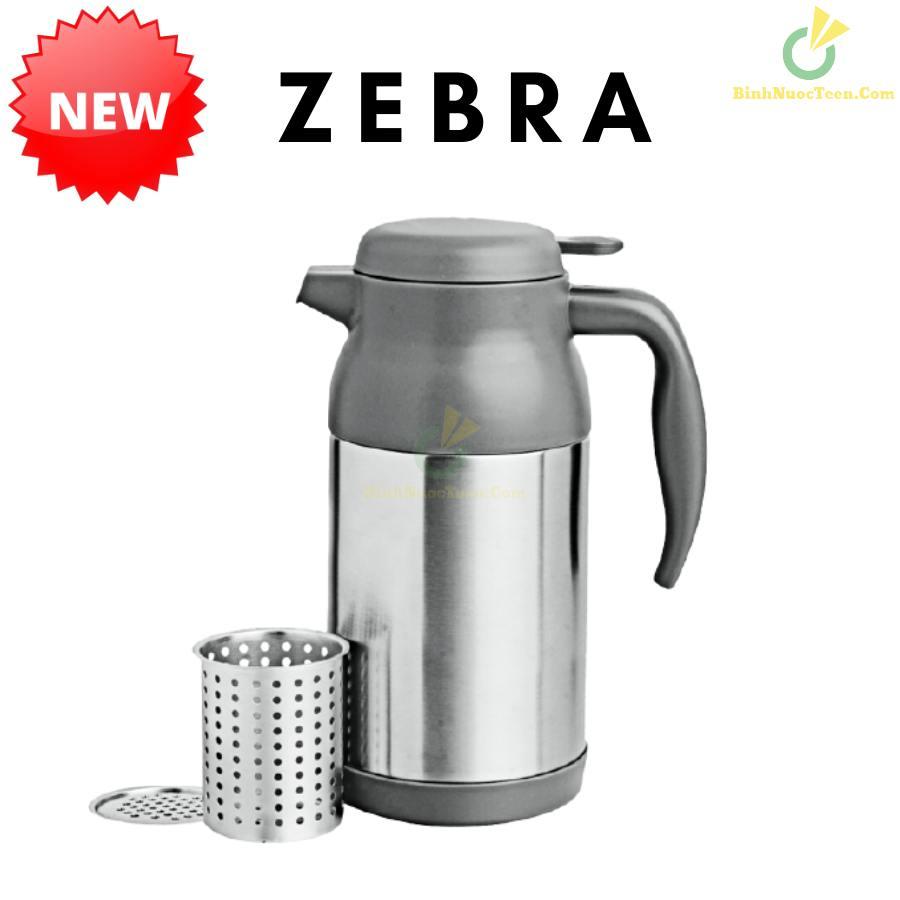 Bình Giữ Nhiệt Zebra Inox 0,8L-1.2L Có Lưới Lọc - 11293X 7
