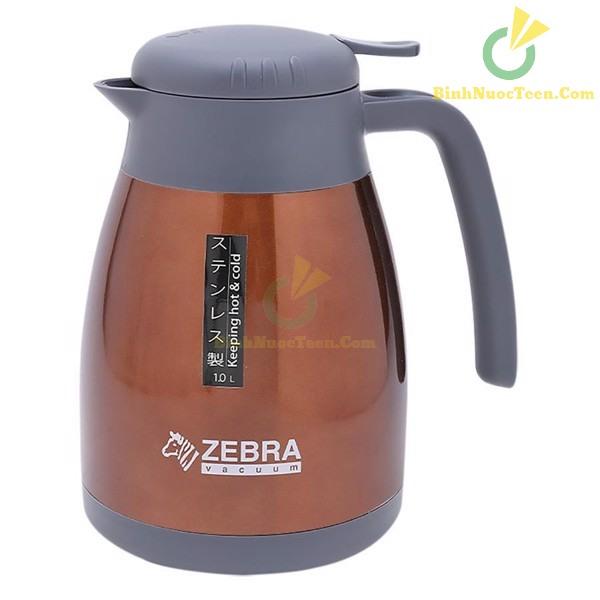 Bình Giữ Nhiệt Zebra 112964 Inox Smart II 1L Có Quai Và Vòi Rót 10