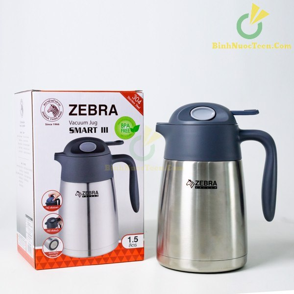 Bình Giữ Nhiệt Zebra Inox Smart III 1.5L-2L - 11294X 8