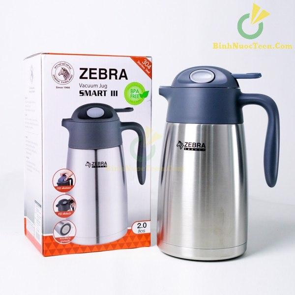 Bình Giữ Nhiệt Zebra Inox Smart III 1.5L-2L - 11294X 11