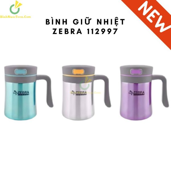 Ca Giữ Nhiệt ZEBRA - 112997 Có Quai 400ml 1