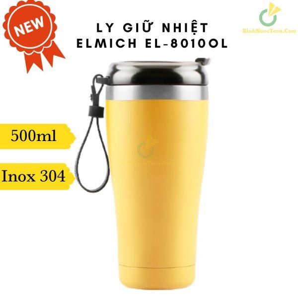 Ly Giữ Nhiệt Elmich Inox 304 EL-8010OL 500ml 1