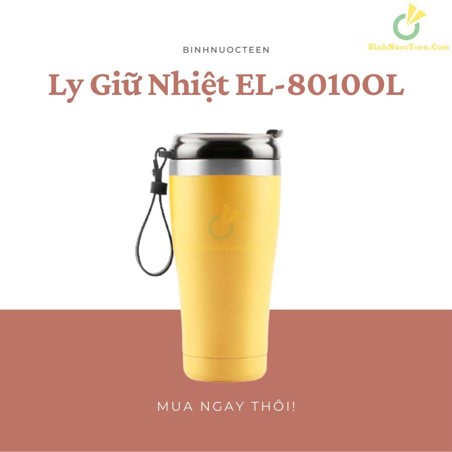 Ly Giữ Nhiệt Elmich Inox 304 EL-8010OL 500ml 5