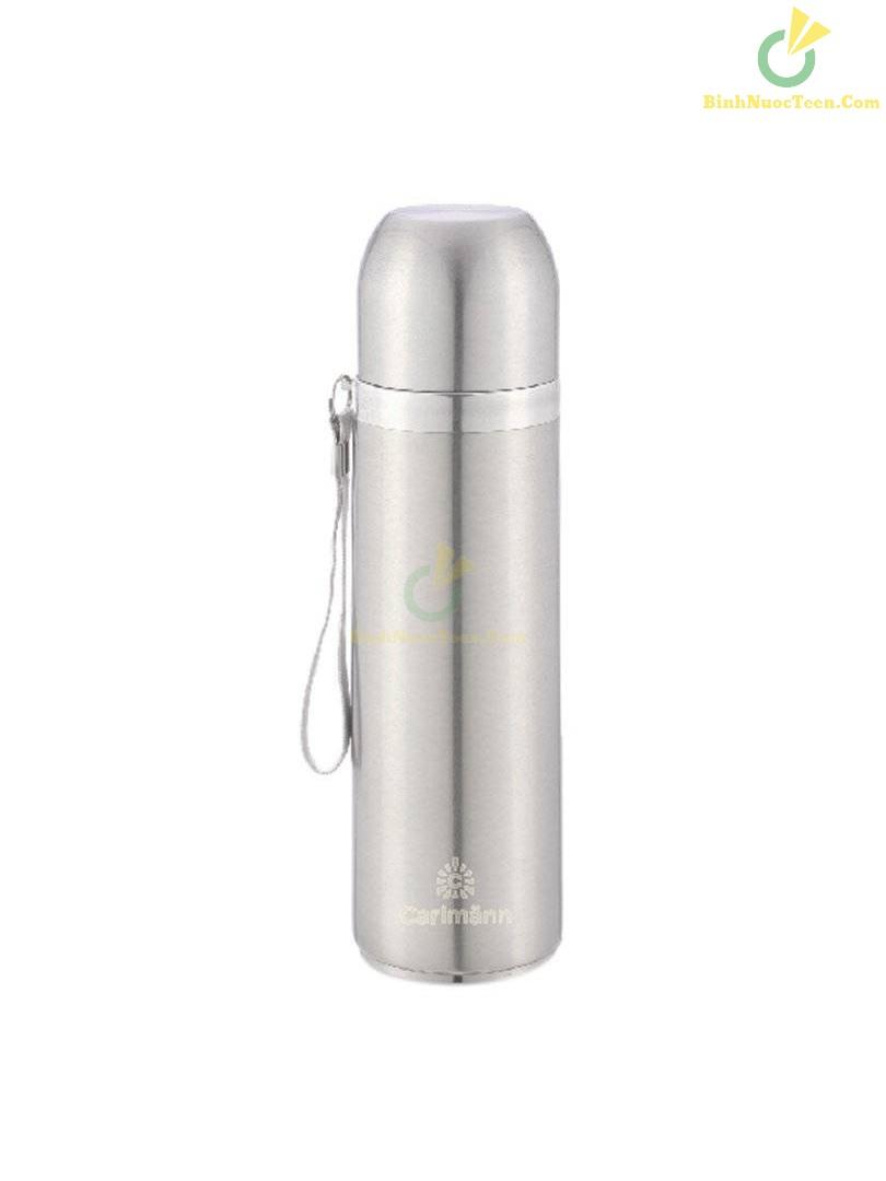 Bình Giữ Nhiệt Carlmann Nóng Lạnh Màu Inox - BES502 3
