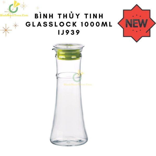 Bình Nước Thủy Tinh Glasslock 1000ml IJ939 In Logo Theo Yêu Cầu 9