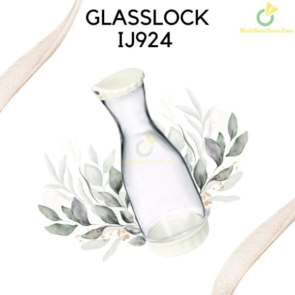 Bình Thủy Tinh Glasslock 1000ml IJ924 In Logo 5
