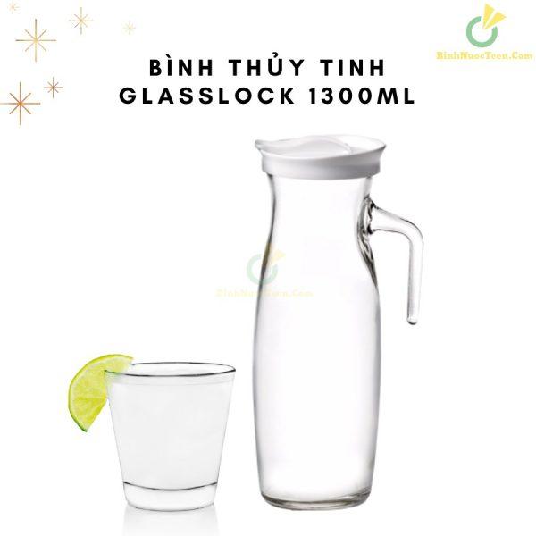 Bình Thủy Tinh Glasslock 1300ml IJ926 Quai Cầm Sang Trọng 8