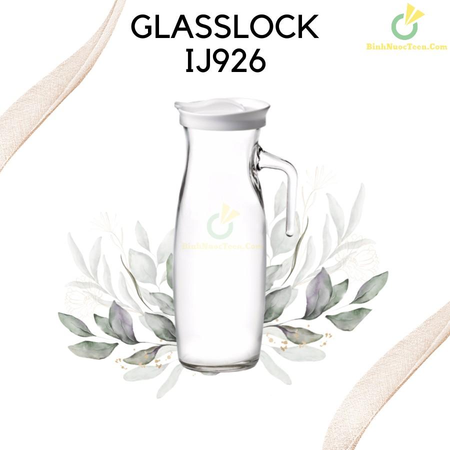 Bình Thủy Tinh Glasslock 1300ml IJ926 Quai Cầm Sang Trọng 2