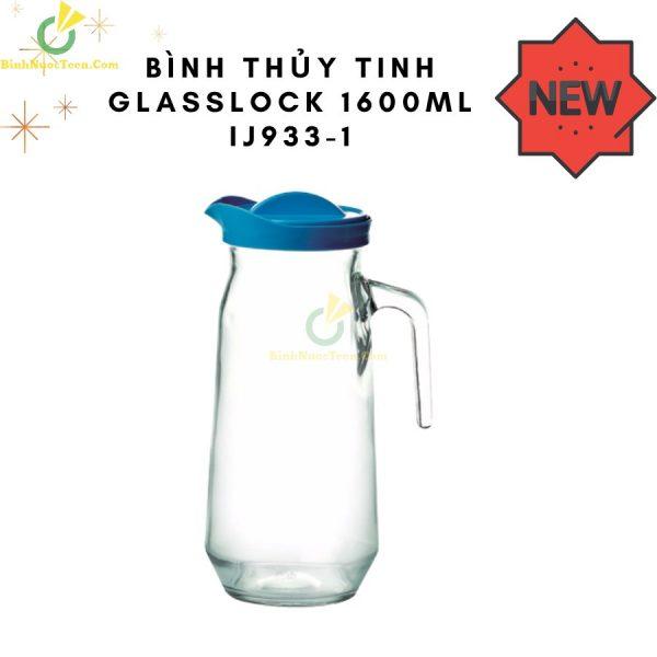 Bình Thủy Tinh Glasslock 1600ml IJ933-1 In Logo 2