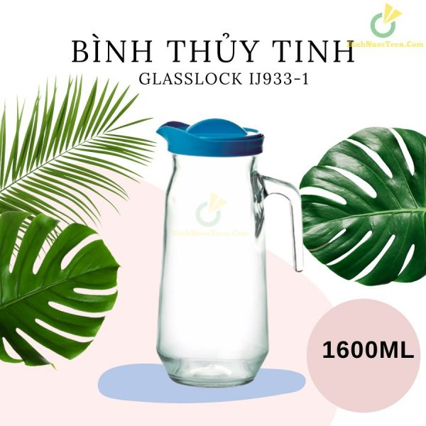 Bình Thủy Tinh Glasslock 1600ml IJ933-1 In Logo 4