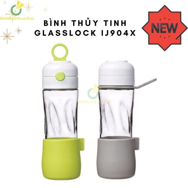 Bình Thuỷ Tinh Glasslock 500ml IJ904X In Logo 1