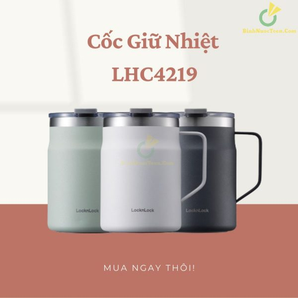 Ly Giữ Nhiệt Lock&Lock 475ml Metro Table Mug LHC4219 10